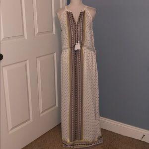 New Charming Charlie boho printed maxi dress